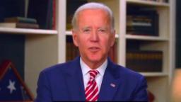 Biden is running ahead of Clinton's 2016 pace