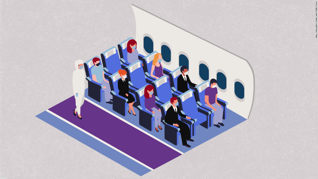 Here's how Covid-19 could change the way we fly