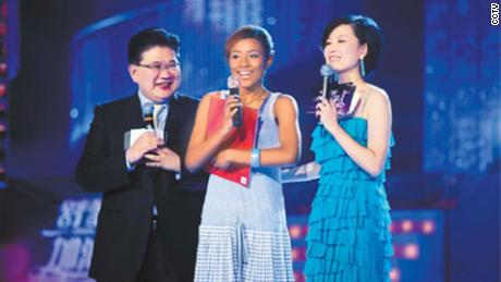 In 2009, an African-Chinese contestant on Shanghai TV talent show received a barrage of internet abuse because of her skin color.
