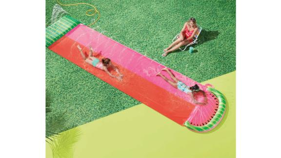 Watermelon Aqua Ramp Double Water Slide - Sun Squad
