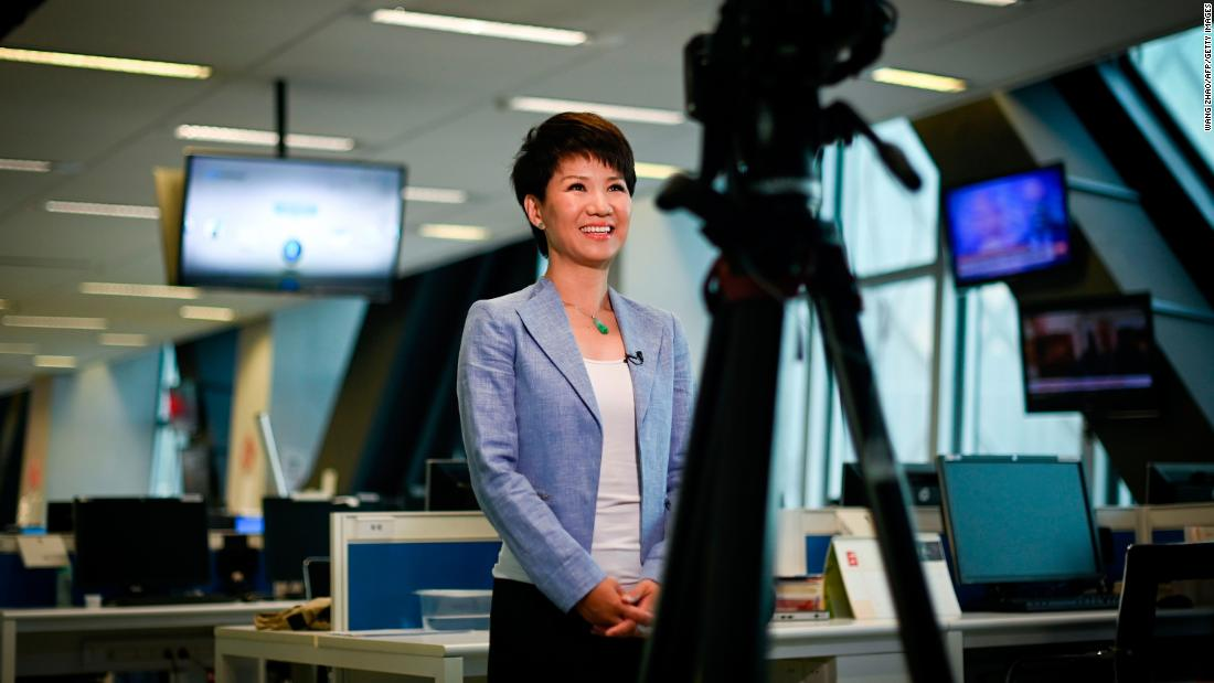 Americans working for Chinese media are having to share personal details