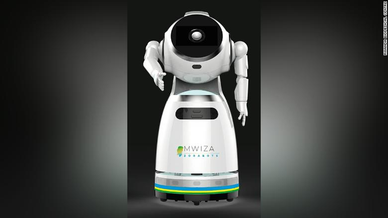 The robots have the capacity to deliver medicine and food to Covid-19 patients