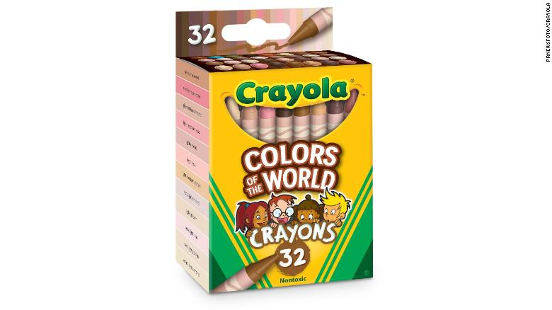 Because the world is more diverse, Crayola crayons will represent skin tones of the world when packs get released in July.