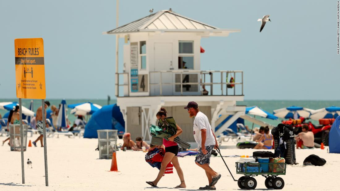 States and beaches reopen ahead of Memorial Day weekend