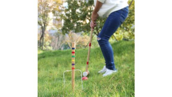 Juegoal Six Player Croquet Set