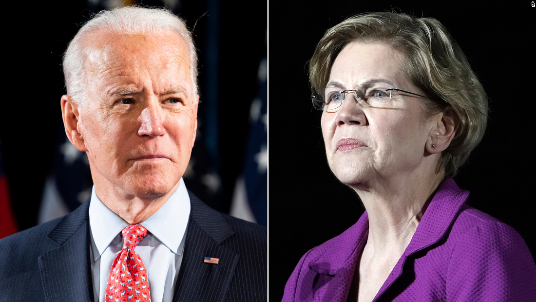 Democrats see Warren as rising VP contender as coronavirus reshuffles 2020 race