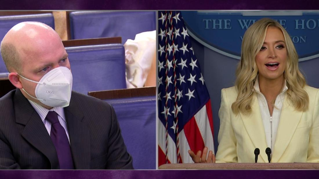 Briefing gets heated after press secretary