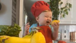 Meet the 1-year-old chef with 1.3 followers on Instagram