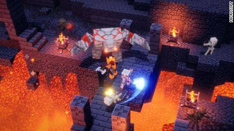 """Minecraft Dungeons"" is a new release for a successful franchise by Mojang and Xbox Game Studios."