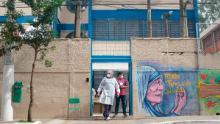 Una scuola nella favolosa favela di Paraisopolis viene utilizzata come centro di isolamento per le persone con coronavirus.