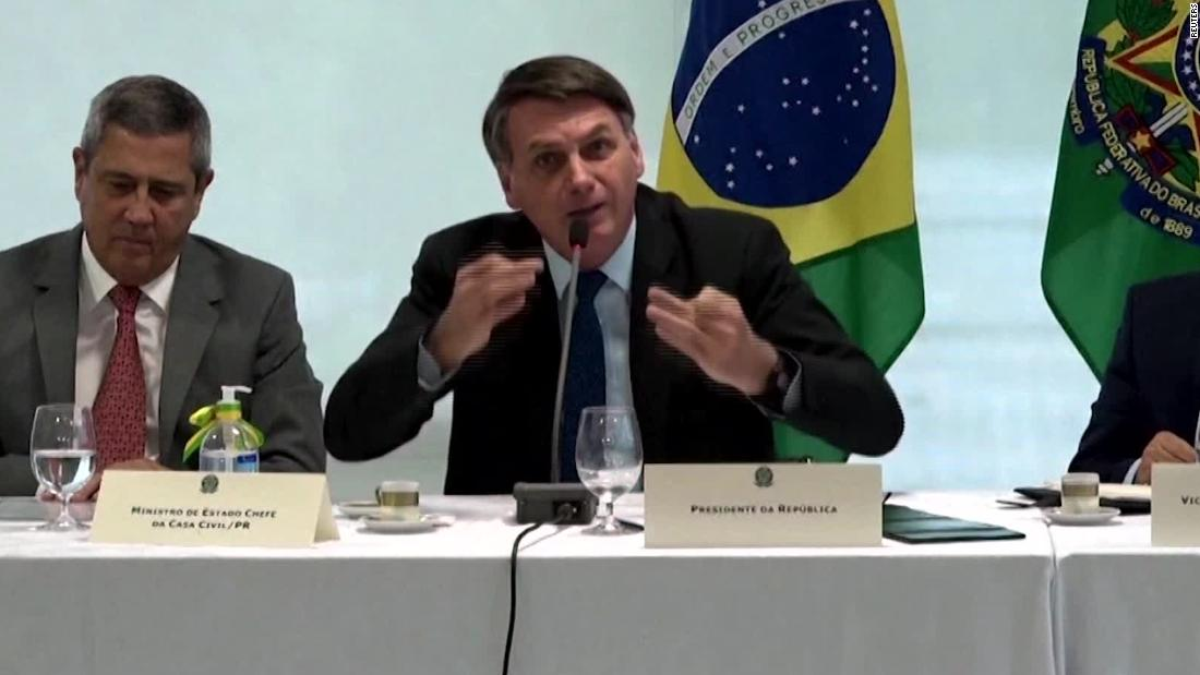 Brazil's Supreme Court releases video of President Bolsonaro