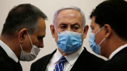 Netanyahu defiant as he arrives for start of trial