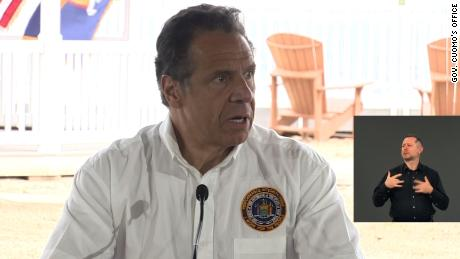 Gov. Andrew Cuomo said Sunday that Covid-19 numbers are trending in the right direction.