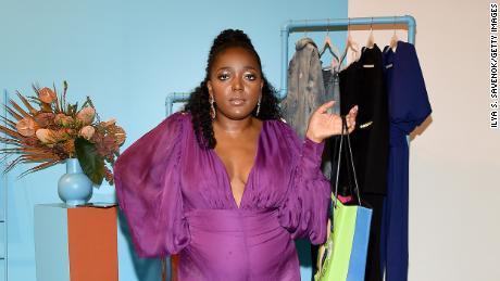 Anifa Mvuemba of Hanifa at the Teen Vogue Celebrates Generation Next
