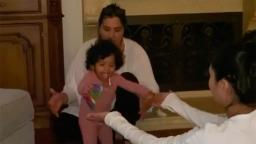 Vanessa Bryant shares adorable video of baby Capri's first steps