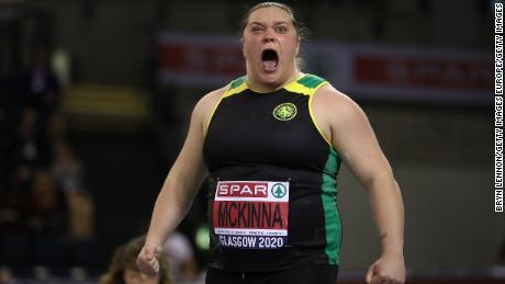 McKinna și-a început cariera de tineret ca sprinter.