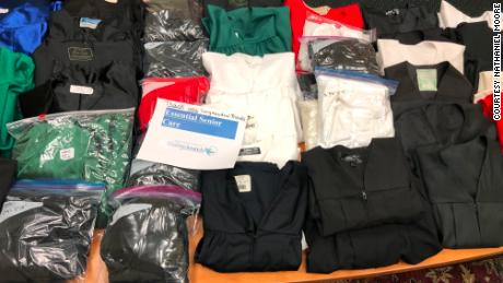 Donations of graduation gowns poured in from all across the US.