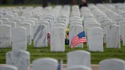 Lawmakers want the VA to remove swastikas from gravestones at two veterans cemeteries