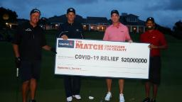 'The Match II' is the most-watched golf telecast in the history of cable television