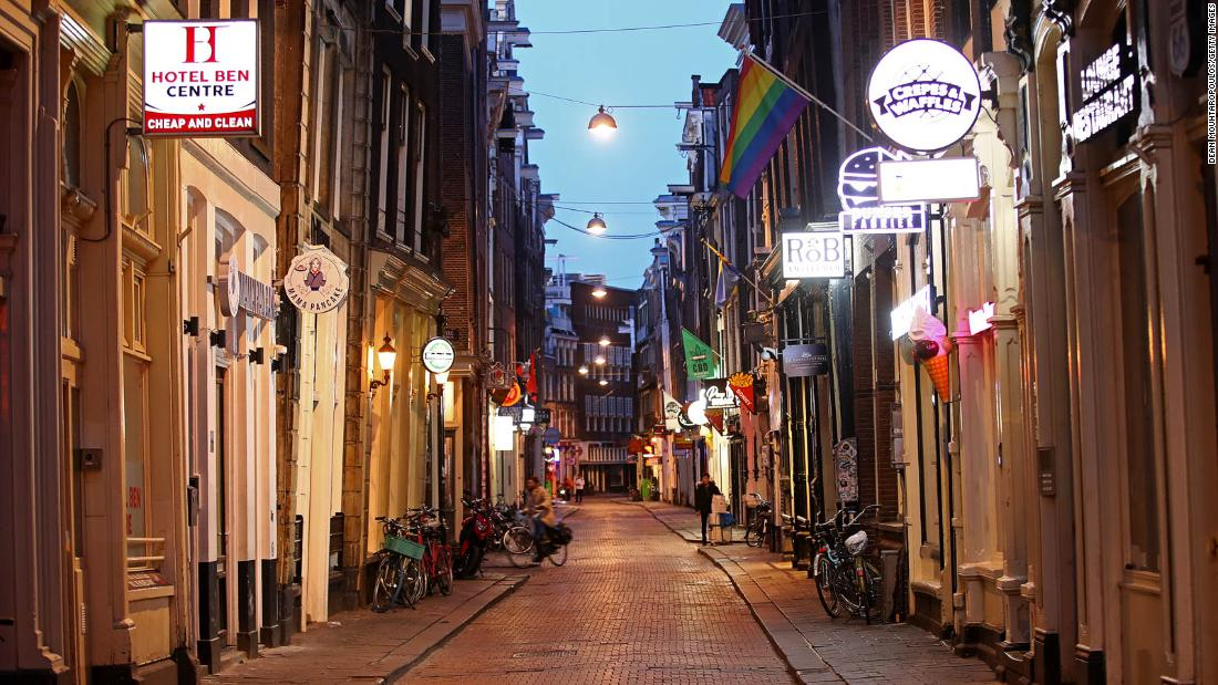 With tourists gone, Amsterdam locals reclaim their city