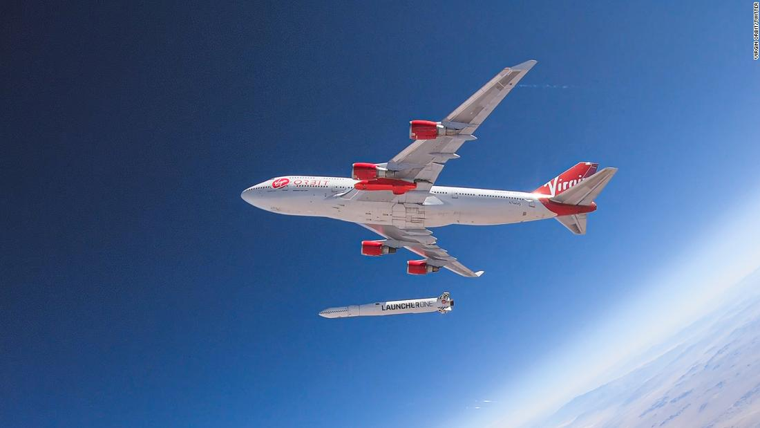 Virgin Orbit experiences anomaly during launch demo