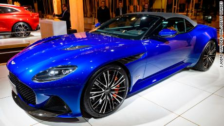 Aston Martin replaces CEO Andy Palmer with Mercedes-AMG chief