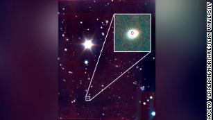 Astronomowie zauważają niebieską bestię & # 39; wybuchu we wszechświecie