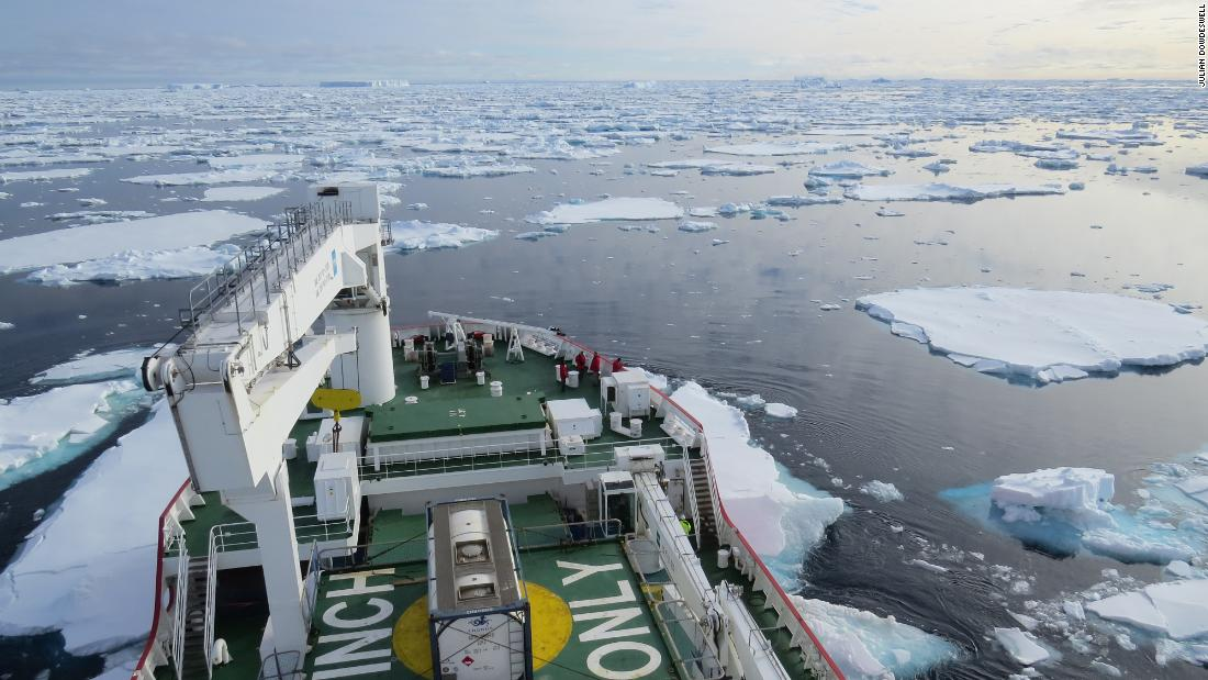 Antarctic ice sheets capable of much faster melting than we thought - CNN