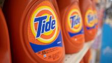 Procter & Gamble has noted an increase in the number of weekly laundry loads in the United States.