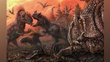 Bad to the bone: Cannibal dinosaurs turned to eating each other in tough times