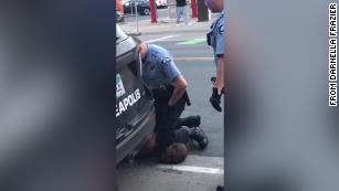 4 Minneapolis cops fired after video shows one kneeling on neck of black man who later died