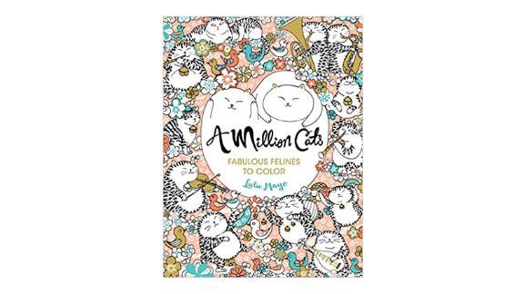 A Million Cats: Fabulous Felines to Color