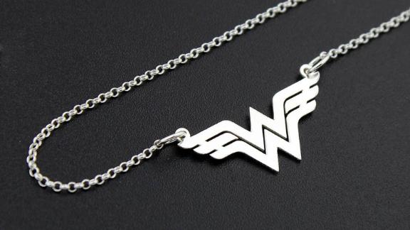 Wonder Woman Necklace by Silversmith 925
