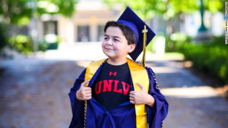 Rico is headed to the University of Nevada, Las Vegas, to obtain a bachelor's degree in history.