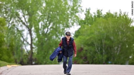 Mickey Nelson is walking 100 miles for his centenarian birthday to raise money for The Salvation Army.