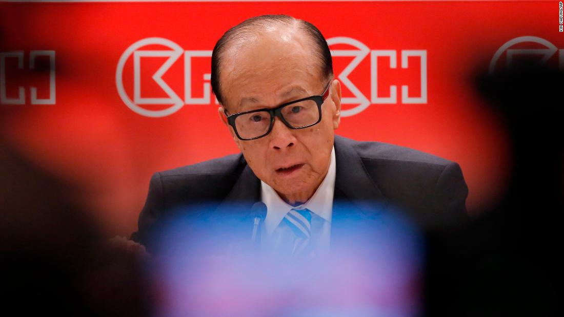 Hong Kong's richest man defends China's plan