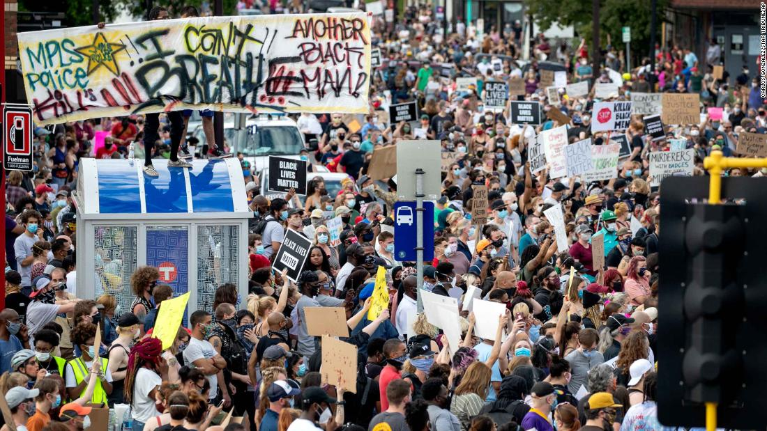 George Floyd's death sparked heated protests across US as many call for charges against officers