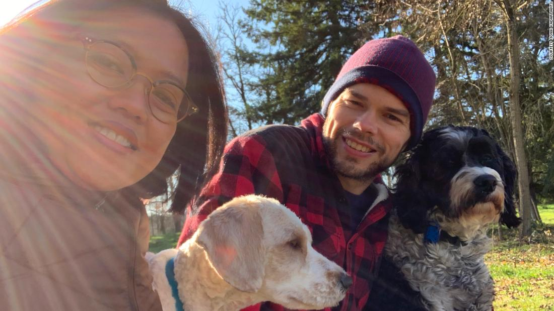 Monik Kadarmanto and Dwight Burton are waiting to adopt a three-year-old boy from China.