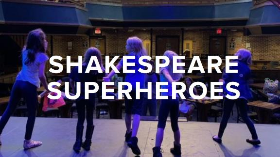 Shakespeare Superheroes