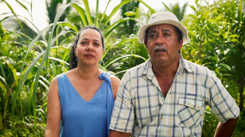 Pedro Garcia and his wife Adilia Villalobos are passionate about looking after nature.