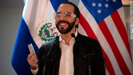 Salvadoran leader says he takes hydroxychloroquine