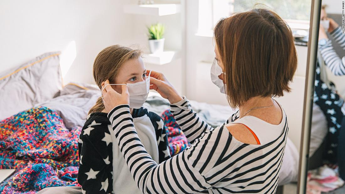 Wearing a mask at home could help stop coronavirus spread among family members, study says