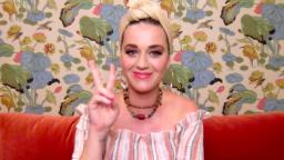 Katy Perry shows off baby bump in new photos
