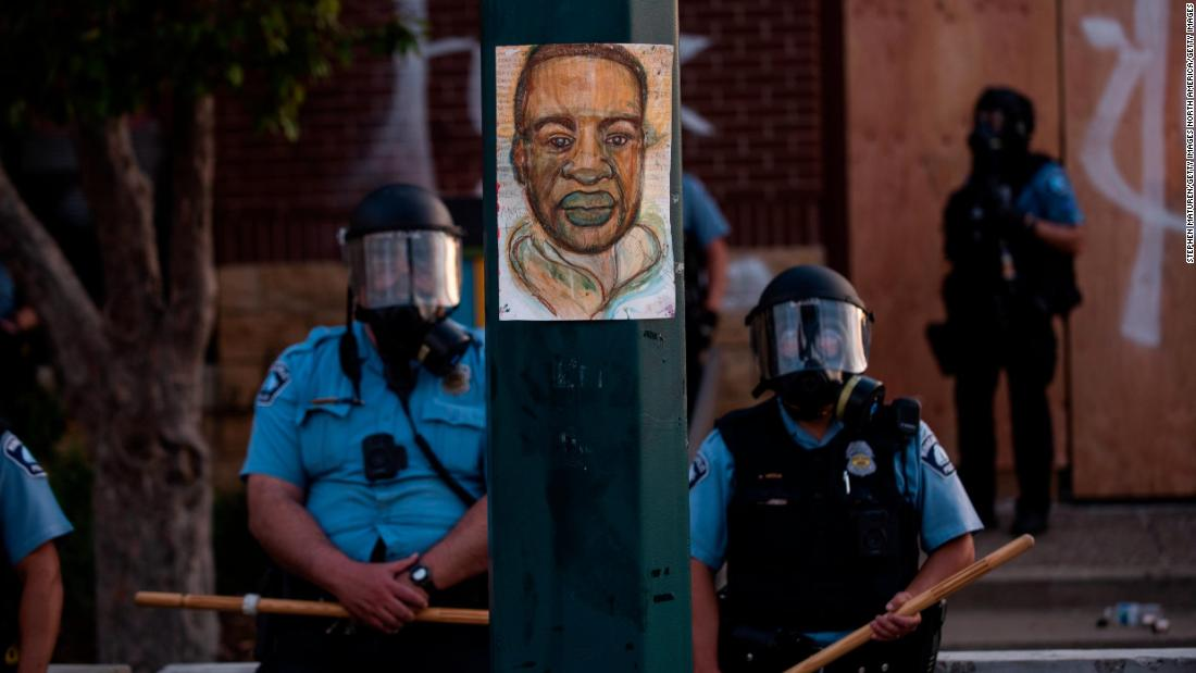 Analysis: Protest pictures alone tell the story of America's racial hierarchy