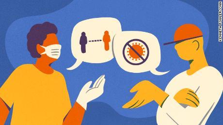 Nous avons des attitudes différentes vis-à-vis de la distanciation sociale, et cela tend les relations