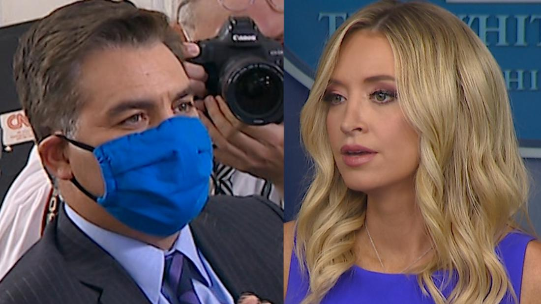 Jim Acosta: Trump's press secretary just told a whopper
