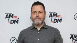 Nick Offerman will donate proceeds of his comedy specials to America's Food Fund
