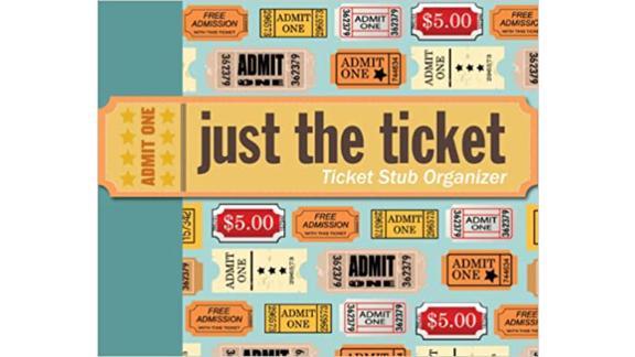 Just the Ticket Ticket Stub Organizer