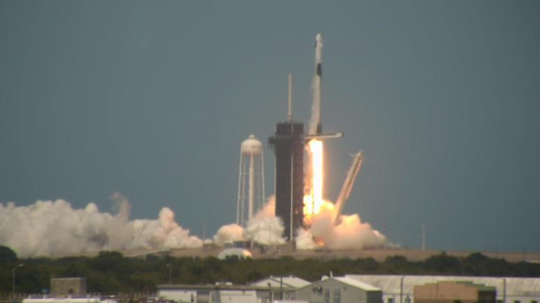 SpaceX and NASA make history with launch