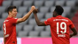 Robert Lewandowski double as Bayern routs Fortuna to go 10 points clear